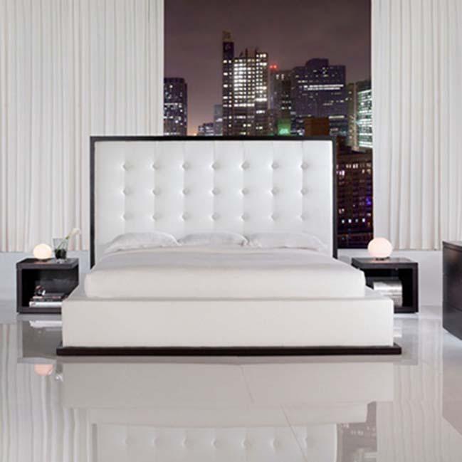 phong ngu dep mau trang 17 Chia sẻ 20+ mẫu phòng ngủ đẹp với tông màu trắng