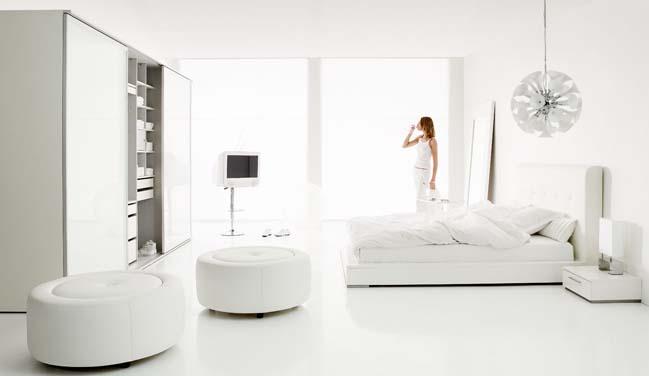 phong ngu dep mau trang 21 Chia sẻ 20+ mẫu phòng ngủ đẹp với tông màu trắng