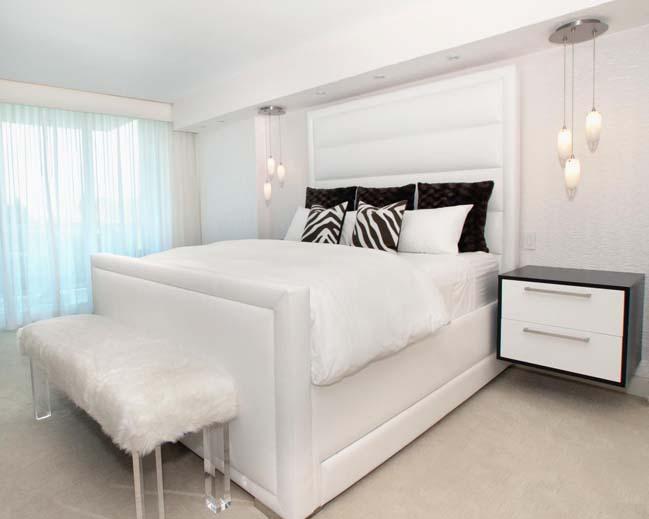 phong ngu dep mau trang 22 Chia sẻ 20+ mẫu phòng ngủ đẹp với tông màu trắng