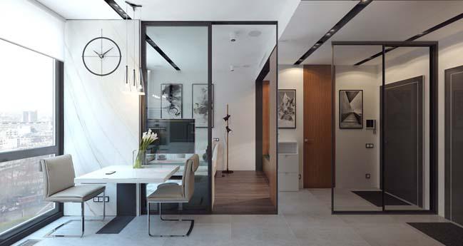 Mẫu thi công nội thất đẹp cho nhà 30m2
