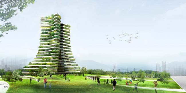 Cùng ngắm kiến trúc xanh của Võ Trọng Nghĩa tại Bắc Ninh