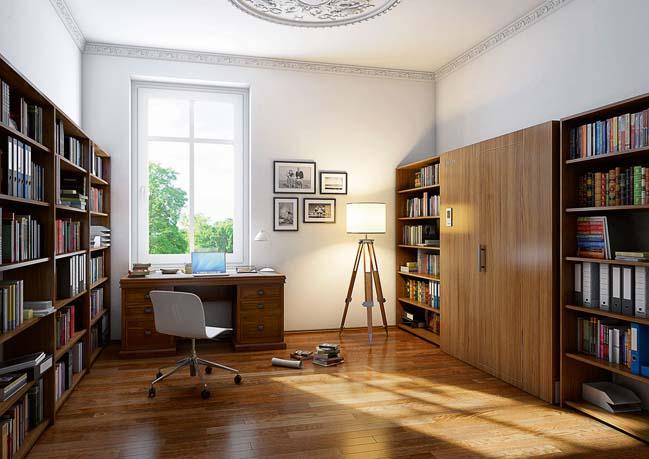 Thiết kế sáng tạo phòng xông hơi cho không gian nhỏ