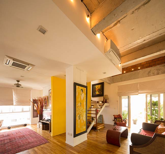 Căn hộ penthouse mang đậm phong cách Á Đông