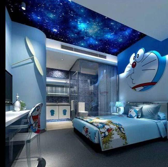 Làm đẹp phòng ngủ của bé với tranh hoạt hình sống động