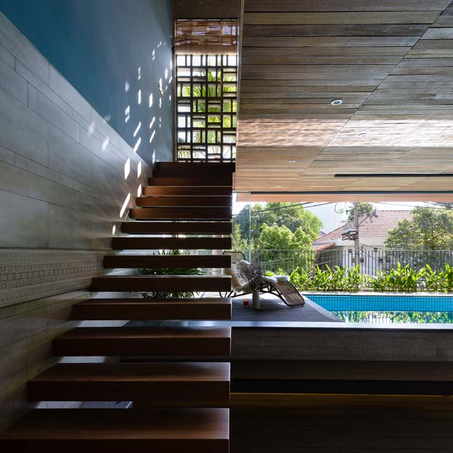 Biệt thự đẹp với thiết kế thoáng mát và gần gũi với thiên nhiên