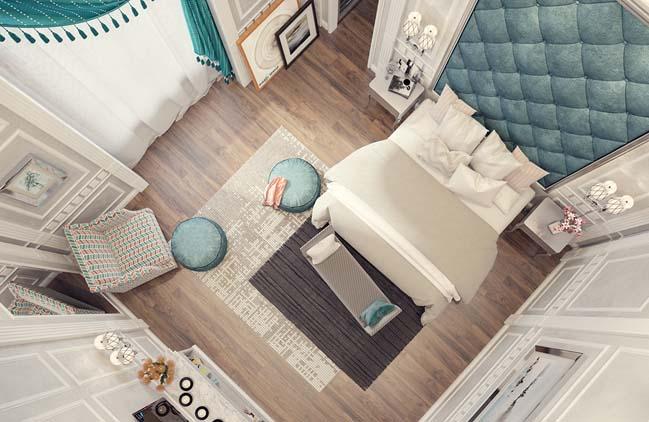 phong ngu dep voi thiet ke co dien 03 Chia sẻ 10+ mẫu phòng ngủ đẹp với thiết kế cổ điển sang trọng