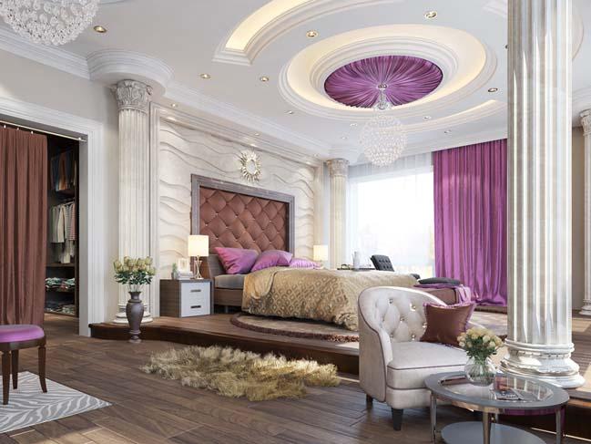 phong ngu dep voi thiet ke co dien 05 Chia sẻ 10+ mẫu phòng ngủ đẹp với thiết kế cổ điển sang trọng