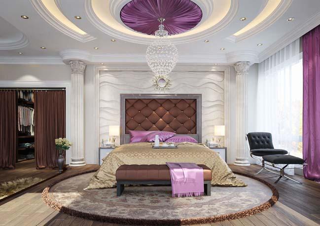 phong ngu dep voi thiet ke co dien 06 Chia sẻ 10+ mẫu phòng ngủ đẹp với thiết kế cổ điển sang trọng