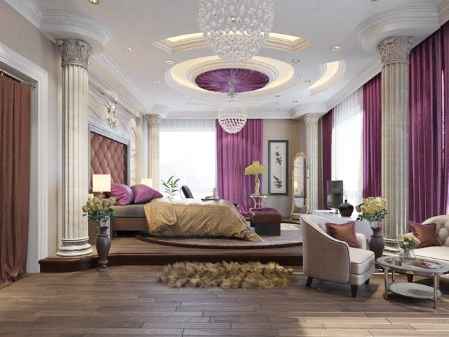 phong ngu dep voi thiet ke co dien 07 Chia sẻ 10+ mẫu phòng ngủ đẹp với thiết kế cổ điển sang trọng