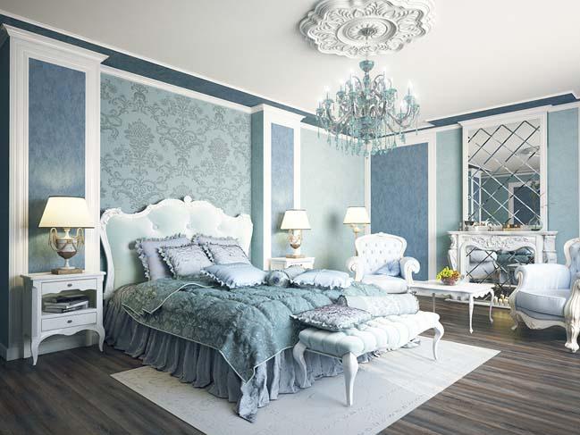 phong ngu dep voi thiet ke co dien 08 Chia sẻ 10+ mẫu phòng ngủ đẹp với thiết kế cổ điển sang trọng