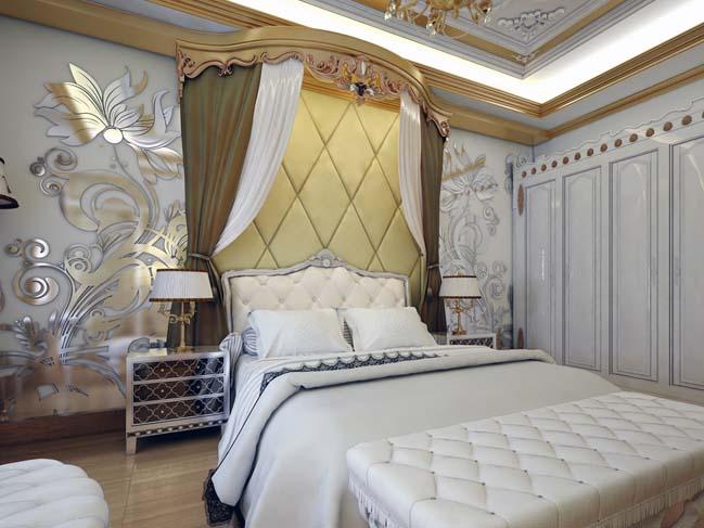 phong ngu dep voi thiet ke co dien 12 Chia sẻ 10+ mẫu phòng ngủ đẹp với thiết kế cổ điển sang trọng