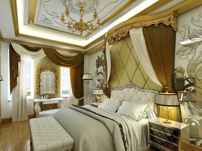 phong ngu dep voi thiet ke co dien 14 Chia sẻ 10+ mẫu phòng ngủ đẹp với thiết kế cổ điển sang trọng