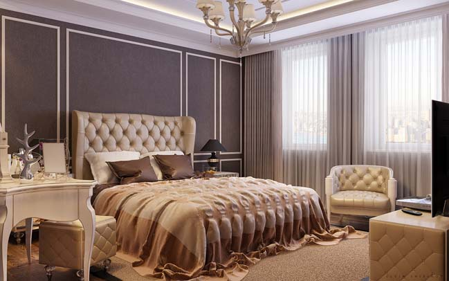 phong ngu dep voi thiet ke co dien 20 Chia sẻ 10+ mẫu phòng ngủ đẹp với thiết kế cổ điển sang trọng