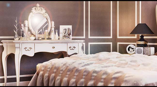 phong ngu dep voi thiet ke co dien 21 Chia sẻ 10+ mẫu phòng ngủ đẹp với thiết kế cổ điển sang trọng