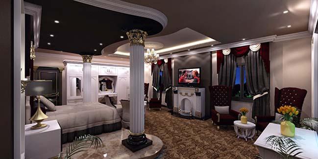 phong ngu dep voi thiet ke co dien 30 Chia sẻ 10+ mẫu phòng ngủ đẹp với thiết kế cổ điển sang trọng