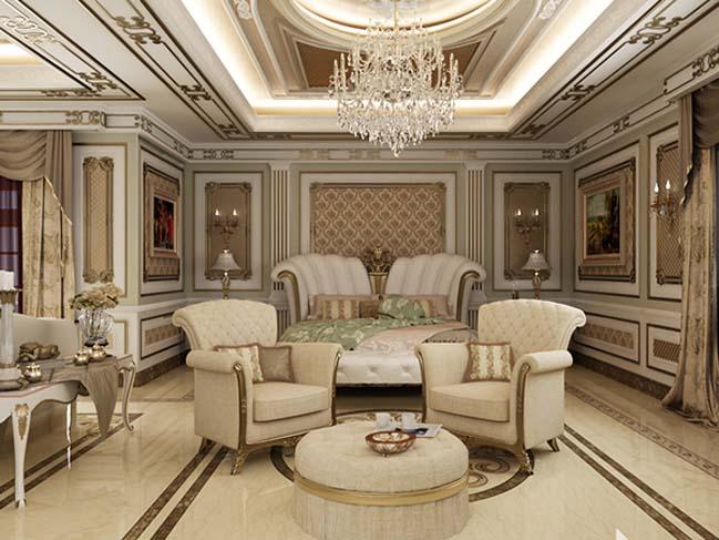phong ngu dep voi thiet ke co dien 33 Chia sẻ 10+ mẫu phòng ngủ đẹp với thiết kế cổ điển sang trọng