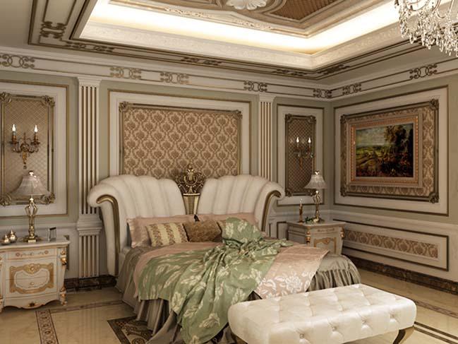 phong ngu dep voi thiet ke co dien 34 Chia sẻ 10+ mẫu phòng ngủ đẹp với thiết kế cổ điển sang trọng