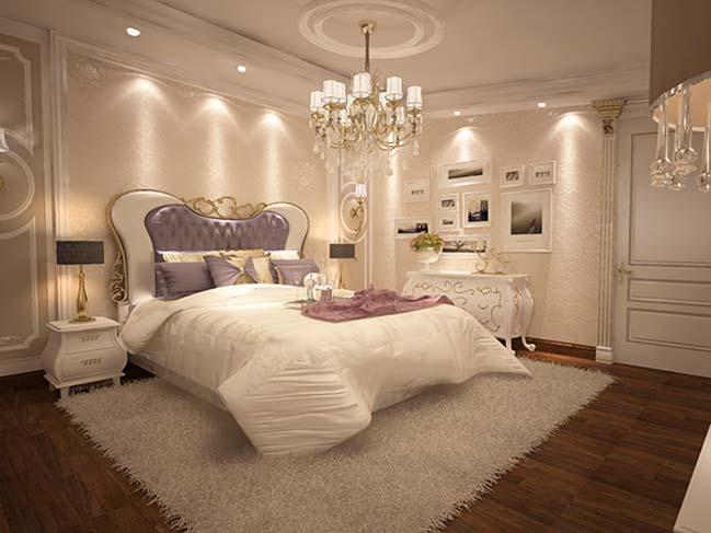 phong ngu dep voi thiet ke co dien 35 Chia sẻ 10+ mẫu phòng ngủ đẹp với thiết kế cổ điển sang trọng