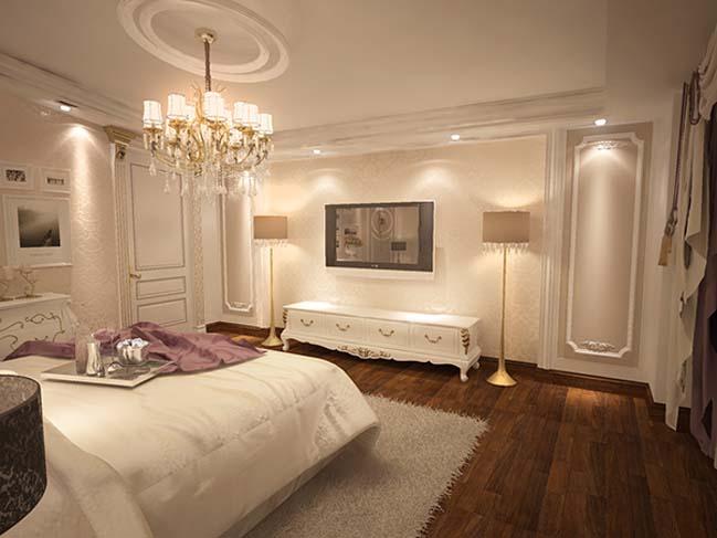 phong ngu dep voi thiet ke co dien 36 Chia sẻ 10+ mẫu phòng ngủ đẹp với thiết kế cổ điển sang trọng