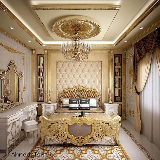phong ngu dep voi thiet ke co dien 37 Chia sẻ 10+ mẫu phòng ngủ đẹp với thiết kế cổ điển sang trọng