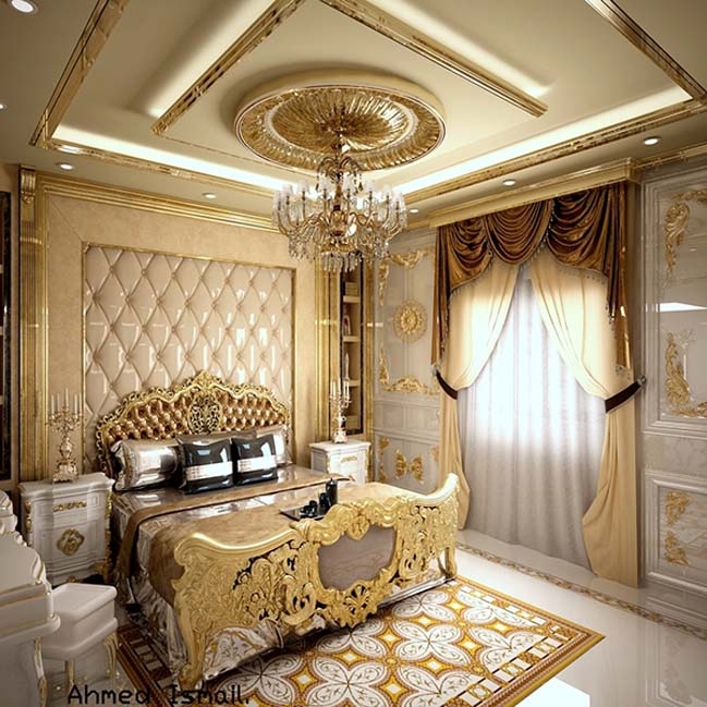 phong ngu dep voi thiet ke co dien 38 Chia sẻ 10+ mẫu phòng ngủ đẹp với thiết kế cổ điển sang trọng