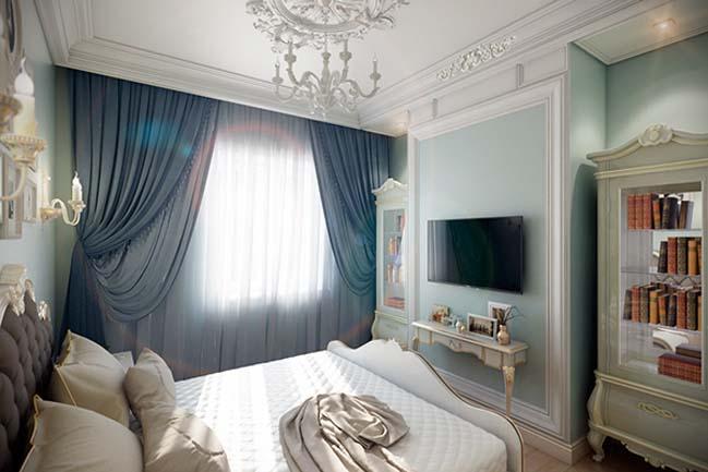 phong ngu dep voi thiet ke co dien 41 Chia sẻ 10+ mẫu phòng ngủ đẹp với thiết kế cổ điển sang trọng