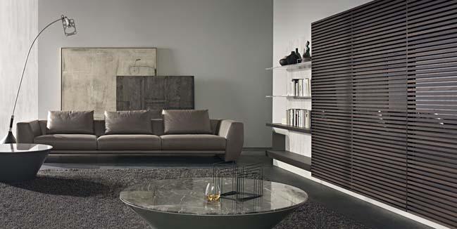 mau phong khach dep toi gian 01 Gợi ý mẫu thiết kế kệ tủ đẹp ẩn giấu tivi cho phòng khách