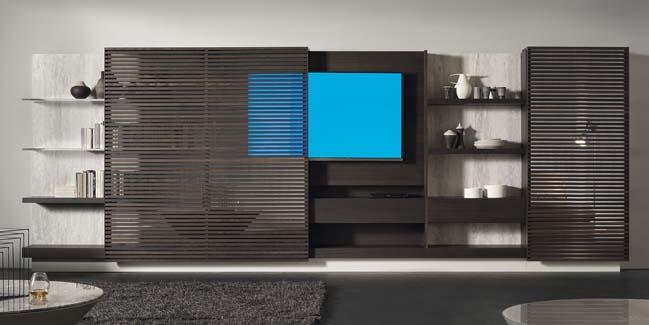 mau phong khach dep toi gian 02 Gợi ý mẫu thiết kế kệ tủ đẹp ẩn giấu tivi cho phòng khách