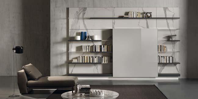 mau phong khach dep toi gian 07 Gợi ý mẫu thiết kế kệ tủ đẹp ẩn giấu tivi cho phòng khách
