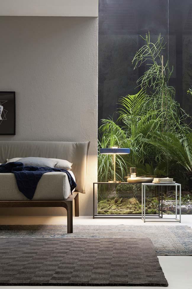 Khu vườn nhỏ xinh bên trong phòng ngủ đẹp