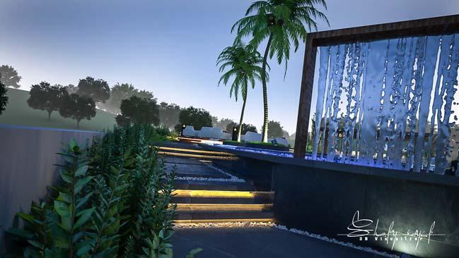 biet thu dep 10 Cùng ngắm mẫu dinh thự đẹp lung linh như resort cao cấp
