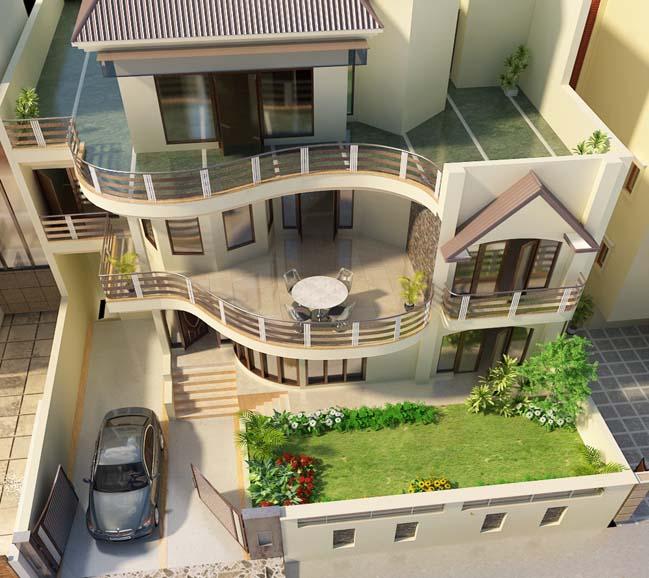 Mẫu thiết kế tham khảo cho biệt thự đẹp