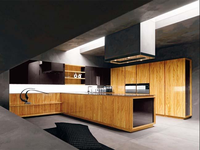 mau nha bep dep voi noi that go 02 Chia sẻ 20 mẫu nhà bếp đẹp với nội thất gỗ hiện đại