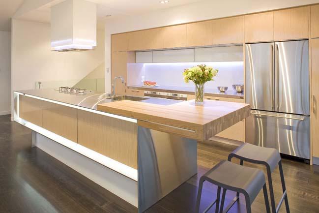 20 mẫu nhà bếp đẹp với nội thất gỗ hiện đại