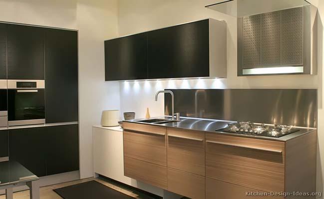 mau nha bep dep voi noi that go 07 Chia sẻ 20 mẫu nhà bếp đẹp với nội thất gỗ hiện đại