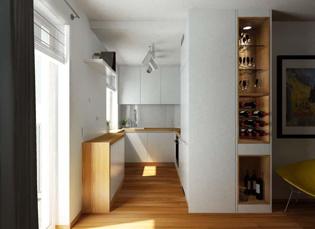 mau nha bep dep voi noi that go 19 Chia sẻ 20 mẫu nhà bếp đẹp với nội thất gỗ hiện đại