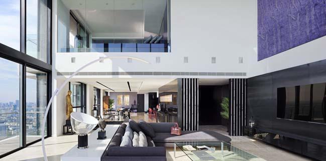 Tham quan căn hộ penthouse 3 tầng sang trọng