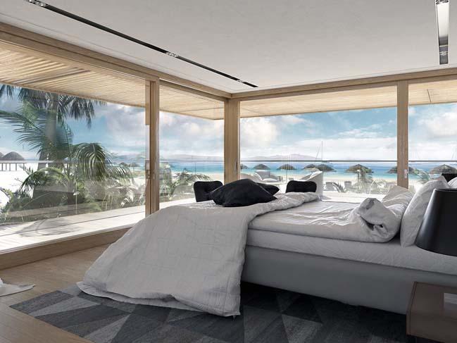 Mẫu thiết kế đẹp cho biệt thự biển