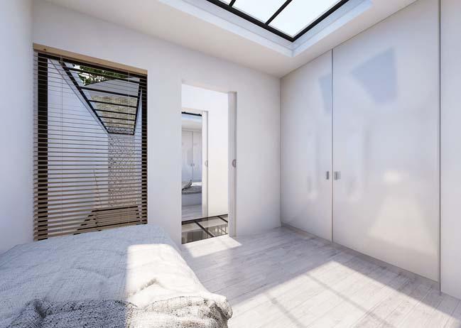 Mẫu nhà 2 tầng đơn giản với thiết kế hiện đại