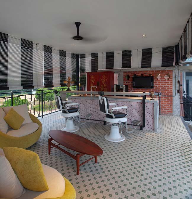 biet thu dep voi phong cach retro va vintage 07 Biệt thự đẹp thoáng mát với phong cách retro siêu đẹp