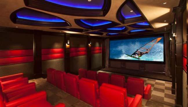 Mê mẩn với những thiết kế phòng chiếu phim gia đình cực đỉnh
