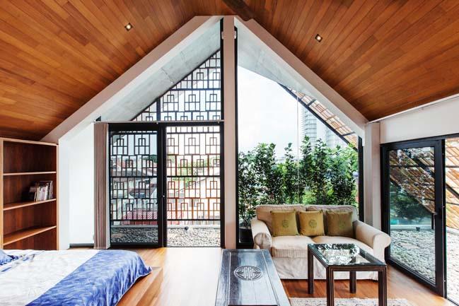 biet thu dep 10 Chia sẻ Mẫu thiết kế biệt thự đẹp mộc mạc với những vật liệu đơn giản