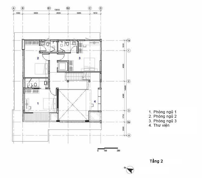biet thu dep 14 Chia sẻ Mẫu thiết kế biệt thự đẹp mộc mạc với những vật liệu đơn giản