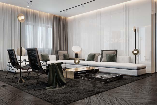 phong khach dep voi khong gian mo 04 Cùng nhìn qua những mẫu phòng khách đẹp với không gian mở