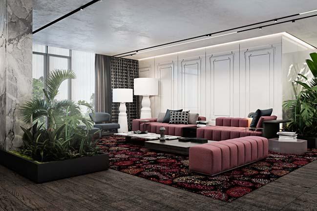 phong khach dep voi khong gian mo 05 Cùng nhìn qua những mẫu phòng khách đẹp với không gian mở