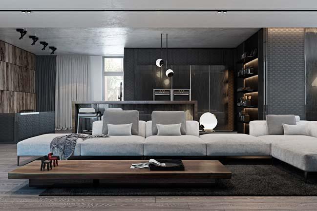 phong khach dep voi khong gian mo 06 Cùng nhìn qua những mẫu phòng khách đẹp với không gian mở