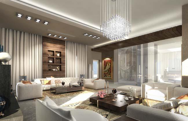phong khach dep voi khong gian mo 07 Cùng nhìn qua những mẫu phòng khách đẹp với không gian mở