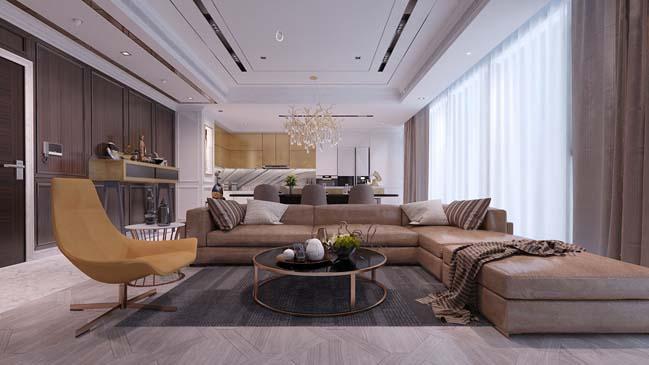 phong khach dep voi khong gian mo 08 Cùng nhìn qua những mẫu phòng khách đẹp với không gian mở