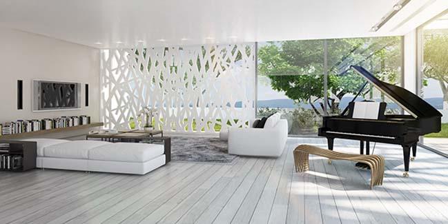 phong khach dep voi khong gian mo 10 Cùng nhìn qua những mẫu phòng khách đẹp với không gian mở