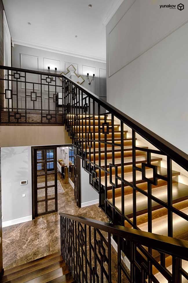 Biệt thự đẹp 2 tầng hiện đại pha lẫn nét cổ xưa truyền thống